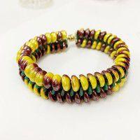 Slinky Bracelet Kit - Banana Shimmer