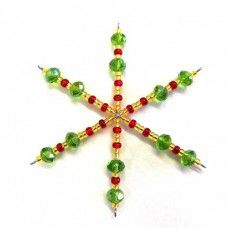 Christmas Snowflake Kit - Gold, Red and Green
