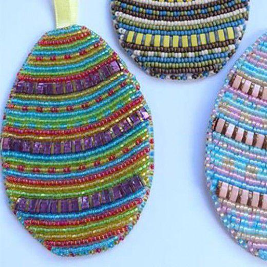 Bead Embroidery Joyful Jewel Easter Egg Kit