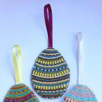 Bead Embroidery Mellow Matte Easter Egg Kit
