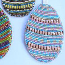 Bead Embroidery Playful Pastel Easter Egg Kit