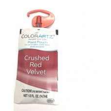 Color Artz - Paint Pouch - CRUSHED RED VELVET - 14.7ml
