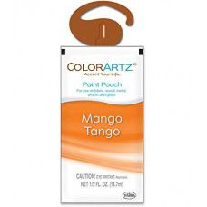 Color Artz - Paint Pouch - MANGO TANGO - 14.7ml