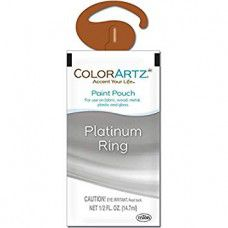 Color Artz - Paint Pouch - PLATINUM RING - 14.7ml