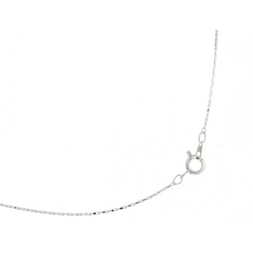 "16"" Silver Serpentine Neckchain With Spring Ring"