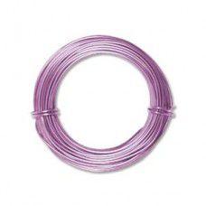 Lavender 18ga Aluminium Wire, 39ft (11.7m)