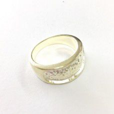 Thick Silver Plated rings (pack of 2)
