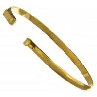 "100% Brass Handmade Bezel, Bracelet Interchangeable, 6"""