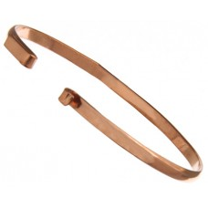 "100% Copper Handmade Bezel, Bracelet Interchangeable, 6"""
