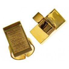100% Brass Handmade Bezel,Rectangular Ring, 29 x 19mm