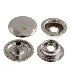 Snaps 12mm Silver 10Sets 26037253-00