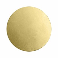 "ImpressArt 24ga Brass Circle, 2"" / 51mm"