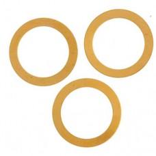 24ga Brass Thin Washer 25mm, Pack of 2