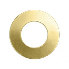 "ImpressArt 24ga Brass Washer, 1"", Pack of 2"