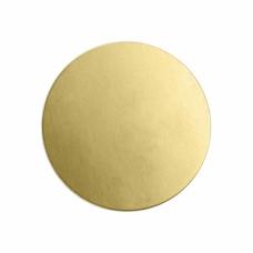 "ImpressArt 24ga Brass Circle, 1 1/2"" / 38mm"