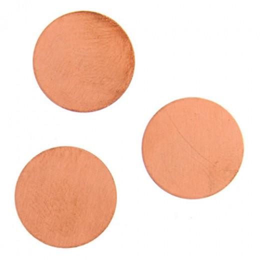 24ga Copper Circle, 14mm, Pack of 4