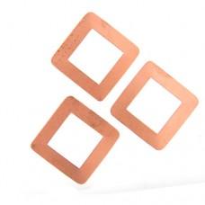 24ga Copper Square Washer, 30mm