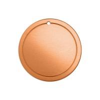 ImpressArt 18ga Copper Border Circle, 32mm
