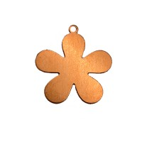 ImpressArt 24ga Copper 5 Petal Flower, 1""