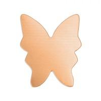 "ImpressArt 24ga Copper Butterfly, 1 3/8"""