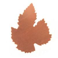 24ga Copper Maple Leaf, 40 x 50mm