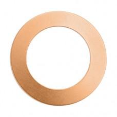 "ImpressArt 24ga Copper Washer, 1 1/2"""