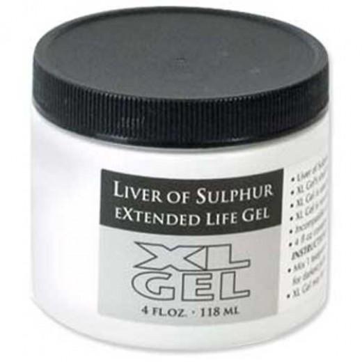 Liver of Sulphur XL Gel Jar 4fl.oz. 118ml