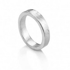 Pewter Ring, UK Size J 1/2, USA size 5, 6mm Wide