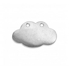 "Pewter Cloud, 1 3/4 x 3/4"" Blank"
