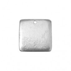 "Pewter Square, 15/16"" Blank"