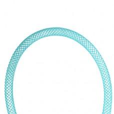 Nylon Mesh Tubing 4mm Aqua, 2m
