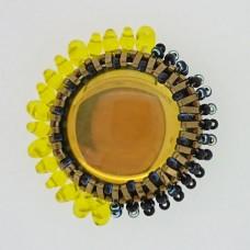 Sunshine/Moonshine Pendant - A Free Pattern by Damaris Ramenaden