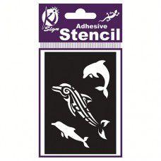 Spraycraft Adhesive Stencil (Dolphin)