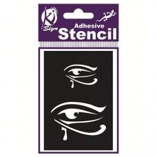 Spraycraft Adhesive Stencil (Egyptian Eye)