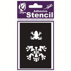 Spraycraft Adhesive Stencil (Frog)