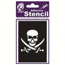 Spraycraft Adhesive Stencil (Pirate)