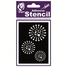 Spraycraft Adhesive Stencil (Psyche 3)