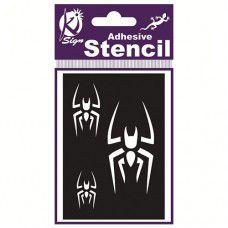 Spraycraft Adhesive Stencil (Spider)