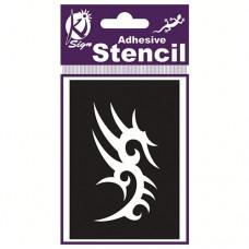 Spraycraft Adhesive Stencil Tribal 7)