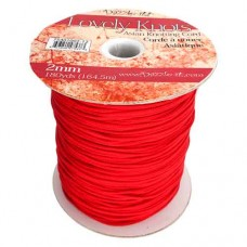 2mm Knotting Cord - 164m Reel,Red