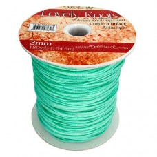 Turquoise 2mm Knotting Cord,5 metre length