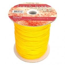 2mm Knotting Cord - 164m Reel, Yellow