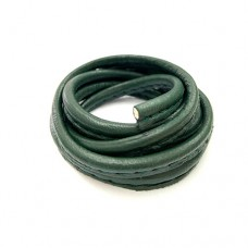 3 x 10mm Nappa Leather, Forest Green, 1 Metre