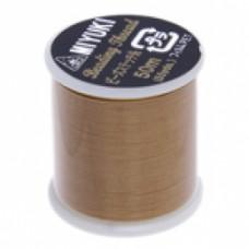 Gold Miyuki Beading Thread - 50m reel