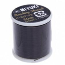 Brown Miyuki Beading Thread - 50m reel