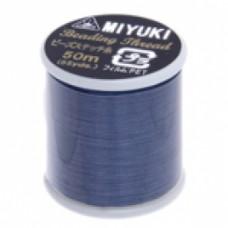 Dark Blue Miyuki Beading Thread - 50m reel