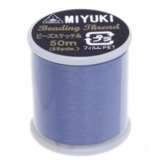Light Blue Miyuki Beading Thread - 50m reel
