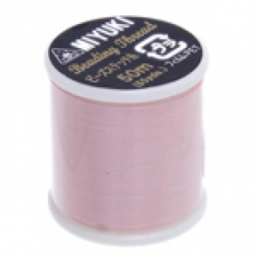 Light Pink Miyuki Beading Thread - 50m reel
