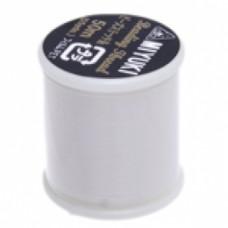 White Miyuki Beading thread - 50m reel