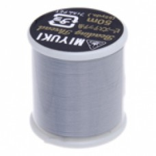 Silver Miyuki Beading Thread - 50m reel